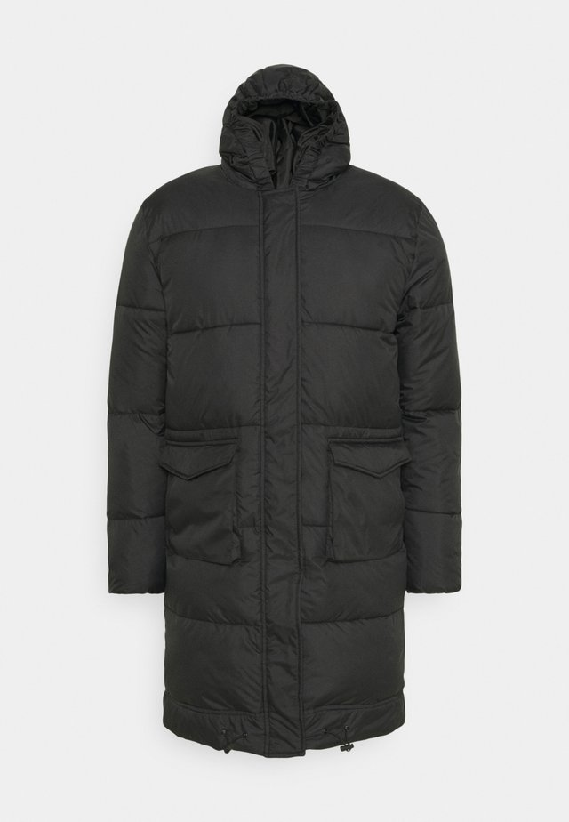LONGLINE EXTREME JACKET UNISEX - Winter coat - black