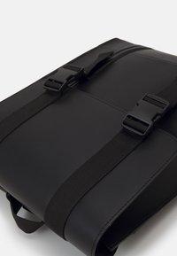 Zign - LEATHER UNISEX - Rucksack - black - 3