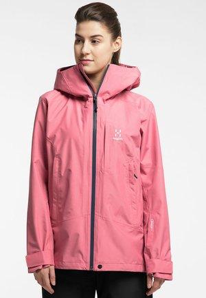 LUMI JACKET - Ski jacket - tulip pink