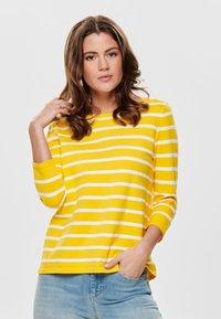 ONLY - Sweatshirt - yellow - 0
