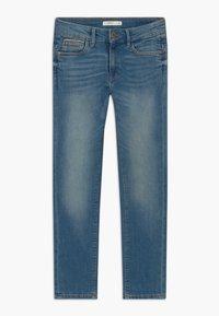 Name it - NKMTHEO PANT - Straight leg jeans - medium blue denim - 0