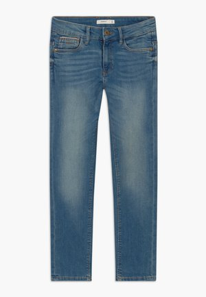 NKMTHEO PANT - Džíny Straight Fit - medium blue denim