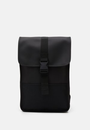 BUCKLE BACKPACK MINI - Rucksack - black