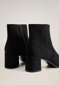 Mango - NOONA - Classic ankle boots - schwarz - 4