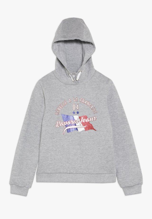 TAZOU - Hoodie - grey melange