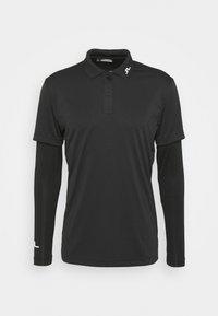 LEON REGULAR FIT GOLF - Polo shirt - black