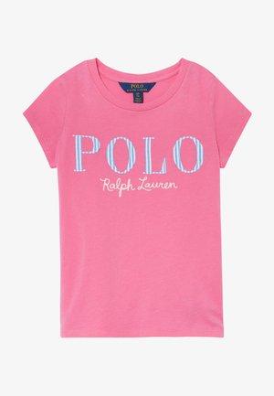 T-shirt con stampa - baja pink