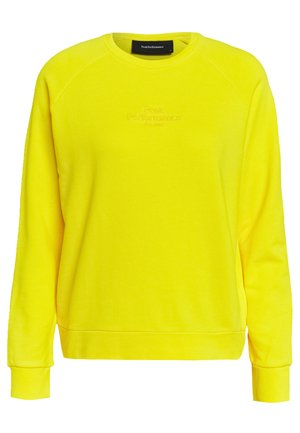 ORIGINAL LIGHT CREW - Sweatshirt - stowaway yellow