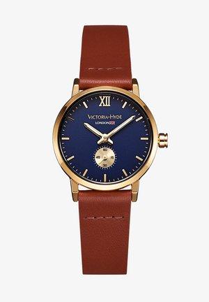 RETRO ELEGANT SMALL DIAL - Horloge - blau braun