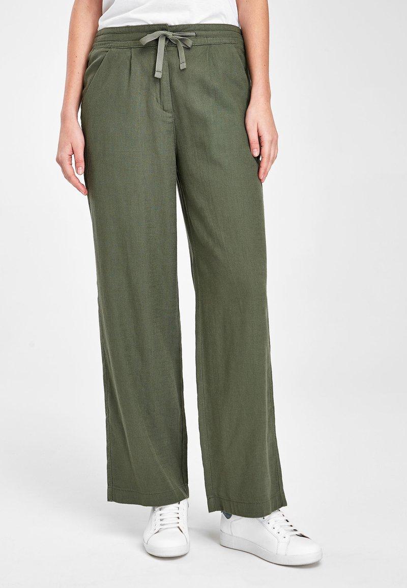 Next - Pantalon classique - green