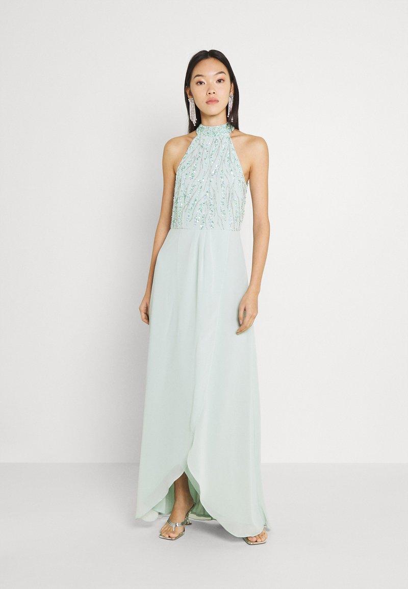 Lace & Beads - STELLA MAXI - Ballkjole - mint