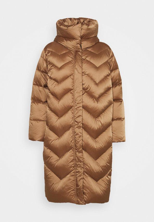 BUSSETO - Down coat - biscotto