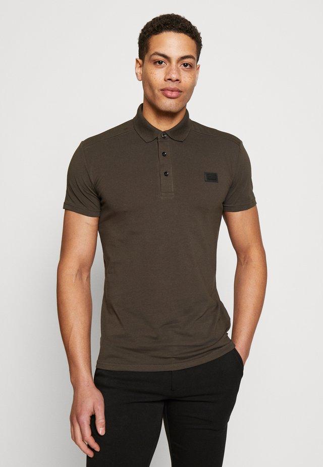 SPORT PLAQUETTE - Polo shirt - khaki