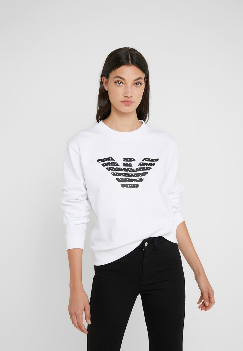 Emporio Armani - Sweatshirts - bianco ottico