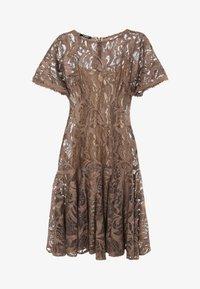 Madam-T - SACASA - Cocktail dress / Party dress - marron - 6