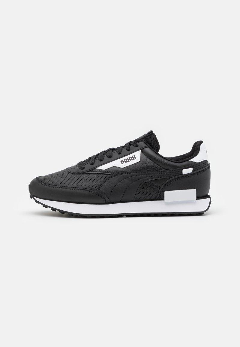 Puma - FUTURE RIDER CONTRAST UNISEX - Tenisky - black/white
