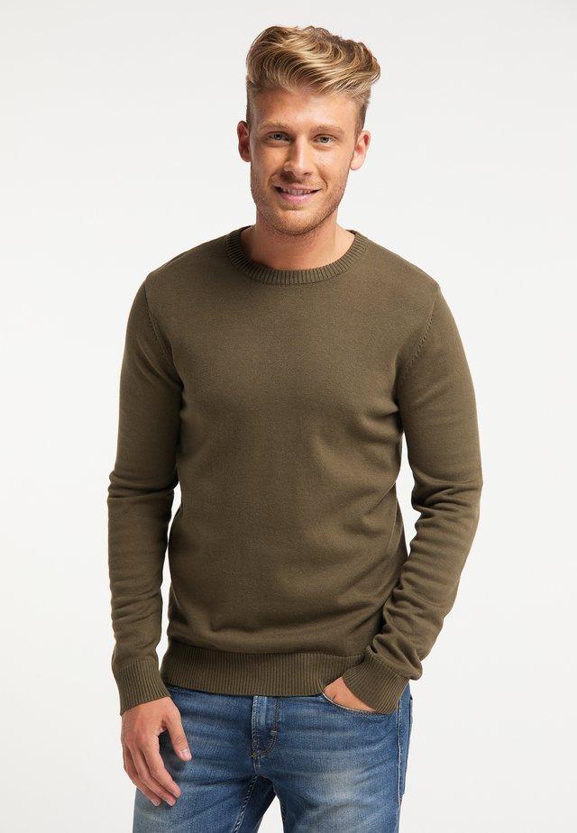 Pullover - militär oliv