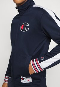 Champion - ROCHESTER RETRO BASKET FULL ZIP - Kurtka sportowa - dark blue/white - 3