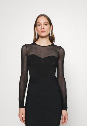 JULIA RESTOIN ROITFELD CREW NECK - Body - black