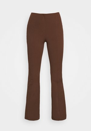 VIOLET TROUSERS - Trousers - brown