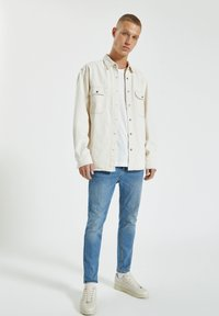 PULL&BEAR - Skinny džíny - light blue denim - 1