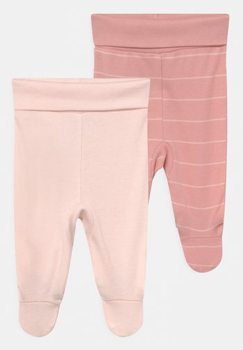GIRLS 2 PACK - Leggings - Trousers - pink