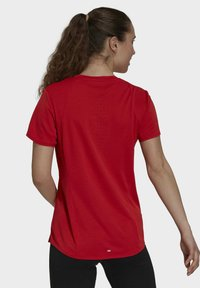 adidas Performance - HEAT RDY TEE - T-shirts med print - red - 2