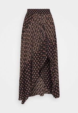JARIRI - A-line skirt - monogramme noir
