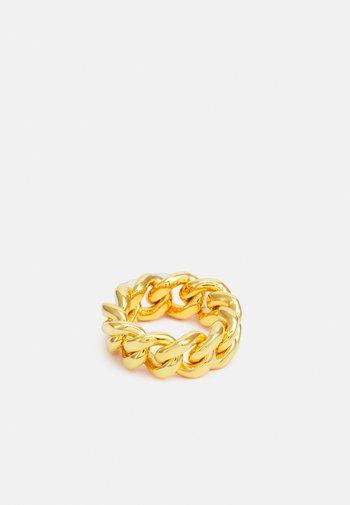 WE CURB CHAIN - Ringar - gold-coloured