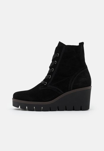 Wedge Ankle Boots