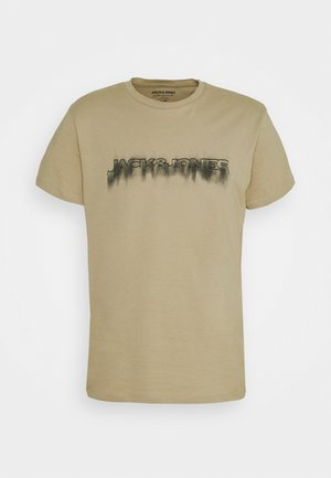 JOREDGE TEE CREW NECK - Camiseta estampada - crockery/jj