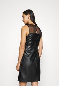 ONLY - ONLVIBE MIX DRESS - Kjole - black - 2