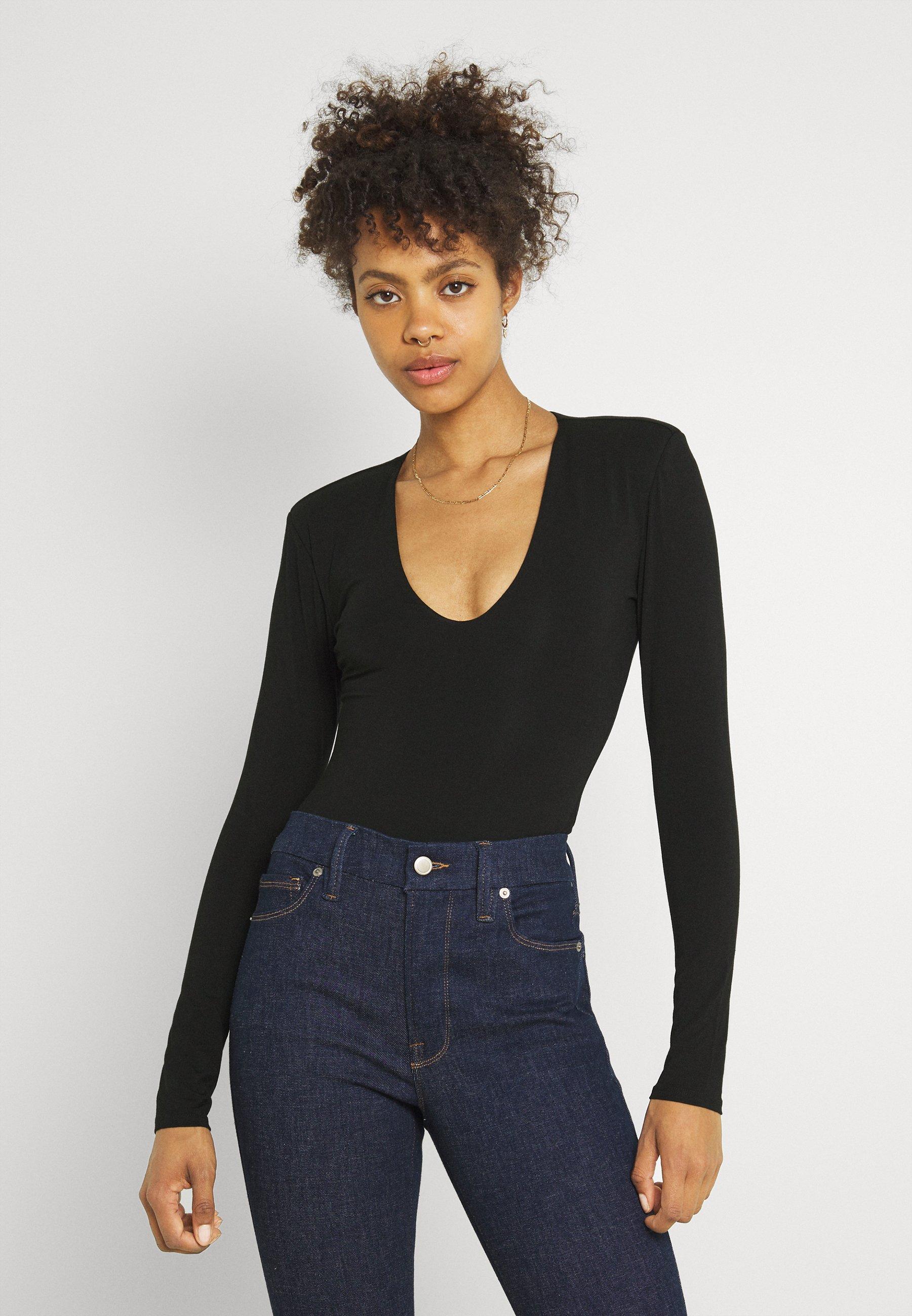 Women POWER SHOULDER BODY - Long sleeved top