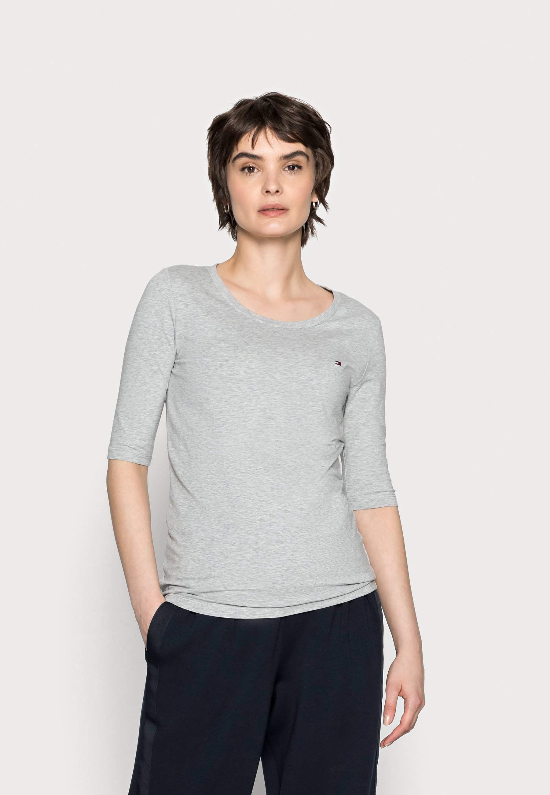 Women COOL SOLID ROUND - Basic T-shirt