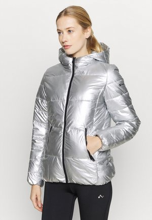 HOODED JACKET LEGACY - Chaqueta de invierno - silver