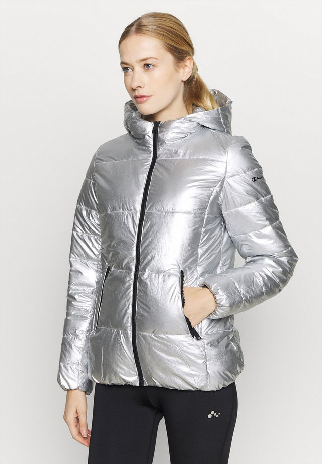 HOODED JACKET LEGACY - Giacca invernale - silver