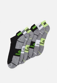 Skechers Performance - MENS SNEAKER 6 PACK - Sports socks - safety yellow mix - 0