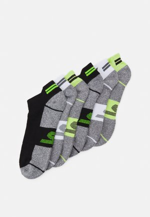 MENS SNEAKER 6 PACK - Sports socks - safety yellow mix