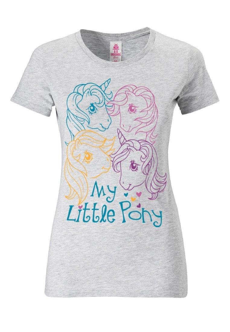 Damen MY LITTLE PONY HEADS - T-Shirt print