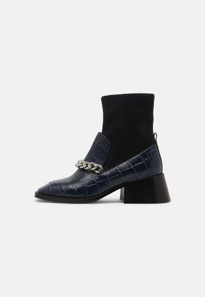 PATRIK - Classic ankle boots - navy