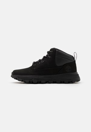 TREELINE UNISEX - High-top trainers - blackout