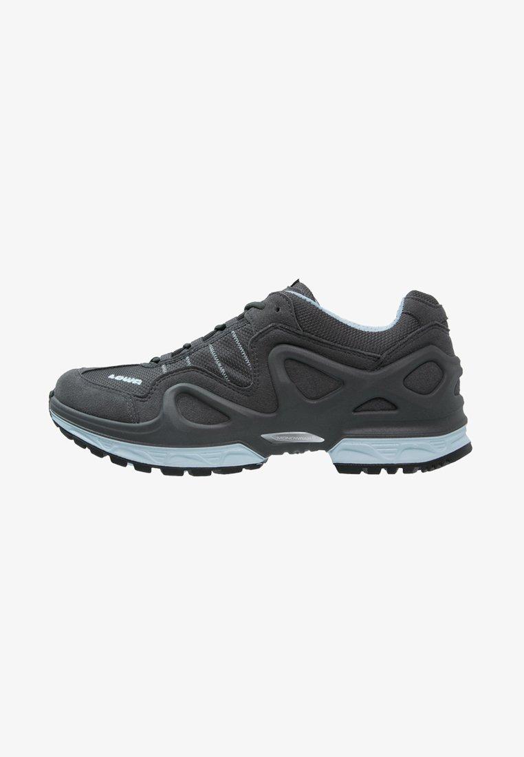 Lowa - GORGON GTX - Hiking shoes - anthrazit/eisblau