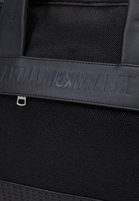 Armani Exchange - Weekend bag - nero - 4