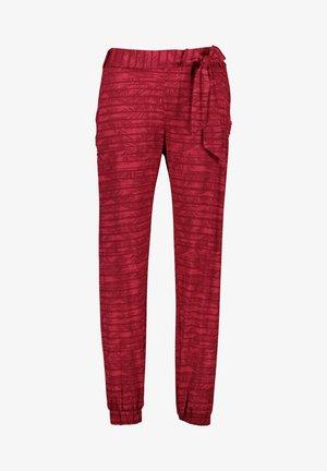 ALICEAK - Trousers - cranberry