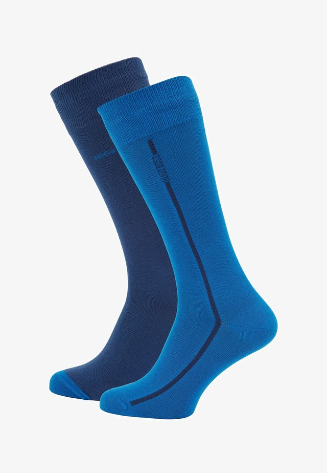 2P RS - Socks - open blue