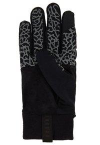 Jordan - SPHERE GLOVES - Gloves - black/dark grey/gym red - 3