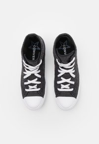 Converse - CHUCK TAYLOR ALL STAR RENEW UNISEX - High-top trainers - black/lakeside blue/white - 3
