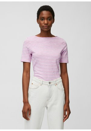 Print T-shirt - mutli/breezy lilac