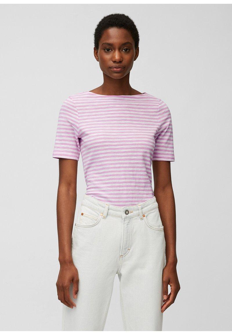Marc O'Polo - Print T-shirt - mutli/breezy lilac
