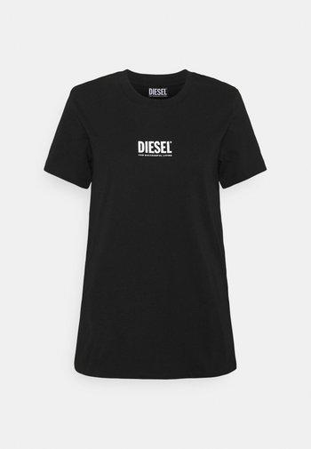 T-SILY-ECOSMALLOGO - Print T-shirt - schwarz